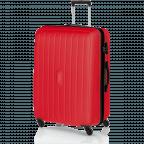 Travelite Uptown 4-Rad Trolley 75cm Rot, Farbe: rot/weinrot, Marke: Travelite, Abmessungen in cm: 52.0x75.0x31.0, Bild 2 von 3