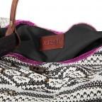 Anokhi Beutel Cheyenne Malin Multi, Farbe: schwarz, flieder/lila, weiß, Marke: Anokhi, Abmessungen in cm: 40.0x34.0x25.0, Bild 3 von 4