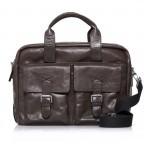 Strellson Greenford Softbriefcase XL Mud, Farbe: braun, Marke: Strellson, EAN: 4053533195817, Abmessungen in cm: 40.0x30.0x14.0, Bild 1 von 4