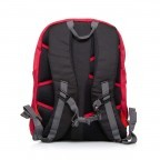 Travelite Basic Daypack S Rot, Farbe: rot/weinrot, Manufacturer: Travelite, Dimensions (cm): 27.0x37.0x17.0, Image 3 of 3