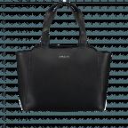 Marc Cain Handtasche HBTJ24L02-900 Black, Farbe: schwarz, Marke: Marc Cain, EAN: 4056255525160, Abmessungen in cm: 32.0x27.0x13.0, Bild 1 von 5