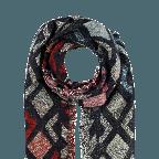 Passigatti Schal Folkways Beige, Farbe: bunt, Marke: Passigatti, EAN: 4046124029554, Abmessungen in cm: 70.0x180.0, Bild 2 von 2