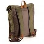 Property of...Mitch Rucksack Army Brown, Farbe: grün/oliv, Marke: Property of ..., Abmessungen in cm: 31.0x41.0x10.0, Bild 6 von 6