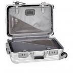 Tumi 19 Degree International Carry On 56cm 4Rollen Texture Silver, Farbe: grau, Marke: Tumi, EAN: 742315534688, Abmessungen in cm: 35.5x56.0x23.0, Bild 5 von 6