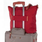 Brics X-Bag 3 in 1 Shopper L BXG35070 Red, Farbe: rot/weinrot, Marke: Brics, Abmessungen in cm: 35.0x34.0x15.0, Bild 5 von 5