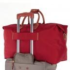Brics X-Travel 2 in 1 Reisetasche Kurzgriff BXL30202 Rot, Farbe: rot/weinrot, Marke: Brics, Abmessungen in cm: 55.0x32.0x20.0, Bild 4 von 6