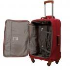 Brics X-Travel Trolley 4-Rollen 65cm BXL48118 Red, Farbe: rot/weinrot, Marke: Brics, Abmessungen in cm: 40.0x65.0x24.0, Bild 5 von 7