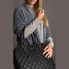 Socha Business Bag Ella Jet Black, Farbe: schwarz, Marke: Socha, EAN: 4029276048420, Abmessungen in cm: 39.0x28.5x9.0, Bild 5 von 5