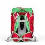 Ergobag Cubo Schulranzen-Set 5-teilig GaloppBär, Farbe: grün/oliv, rot/weinrot, Marke: Ergobag, EAN: 4260389766997, Abmessungen in cm: 25.0x40.0x20.0, Bild 5 von 5
