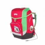 Ergobag Cubo Schulranzen-Set 5-teilig GaloppBär, Farbe: grün/oliv, rot/weinrot, Marke: Ergobag, EAN: 4260389766997, Abmessungen in cm: 25.0x40.0x20.0, Bild 3 von 5
