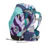 Ergobag Schulranzen-Set 7-teilig Stripes Special Edition ÜBärflieger, Farbe: flieder/lila, Marke: Ergobag, EAN: 4057081010783, Abmessungen in cm: 25.0x35.0x22.0, Bild 4 von 5