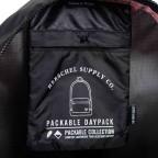 Herschel Rucksack Packable Daypack Black, Farbe: schwarz, Manufacturer: Herschel, EAN: 828432012107, Dimensions (cm): 32.0x45.0x14.0, Image 5 of 5