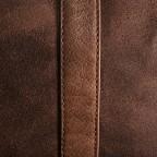 LOUBS Reisetasche Leder Cognac, Farbe: cognac, Marke: Loubs, Abmessungen in cm: 62.0x26.0x32.0, Bild 4 von 4