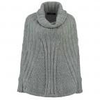 RINO & PELLE Poncho-Pulli Bobbi Grey Gr.M, Farbe: grau, Manufacturer: Rino & Pelle, Image 1 of 2