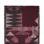 RINO & PELLE Schal ScarfJacy Raisin, Farbe: rot/weinrot, Marke: Rino & Pelle, Abmessungen in cm: 68.0x260.0, Bild 2 von 2