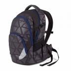 Satch-Air Rucksack Black Triad, Farbe: schwarz, Marke: Satch, EAN: 4260389768366, Abmessungen in cm: 30.0x43.0x22.0, Bild 2 von 4
