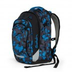 Satch Match Rucksack Blue Triangle, Farbe: blau/petrol, Manufacturer: Satch, EAN: 4057081005215, Image 2 of 7