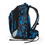 Satch Match Rucksack Blue Triangle, Farbe: blau/petrol, Manufacturer: Satch, EAN: 4057081005215, Image 4 of 7