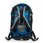 Satch Match Rucksack Blue Triangle, Farbe: blau/petrol, Manufacturer: Satch, EAN: 4057081005215, Image 6 of 7
