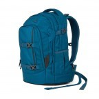 Satch Pack Rucksack Canny Petrol, Farbe: blau/petrol, Manufacturer: Satch, EAN: 4057081012503, Dimensions (cm): 30.0x45.0x22.0, Image 2 of 4