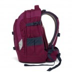 Satch Pack Rucksack Pure Purple, Farbe: rot/weinrot, Manufacturer: Satch, EAN: 4057081005178, Dimensions (cm): 30.0x45.0x22.0, Image 3 of 7