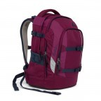 Satch Pack Rucksack Pure Purple, Farbe: rot/weinrot, Manufacturer: Satch, EAN: 4057081005178, Dimensions (cm): 30.0x45.0x22.0, Image 7 of 7