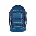 Satch Feat. MyBoshi Rucksack Blue Boshi, Farbe: blau/petrol, Marke: Satch, EAN: 4260389768311, Abmessungen in cm: 30.0x45.0x22.0, Bild 2 von 6
