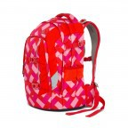 Satch Pack Rucksack Chaka Cherry, Manufacturer: Satch, EAN: 4057081005161, Dimensions (cm): 30.0x45.0x22.0, Image 2 of 7