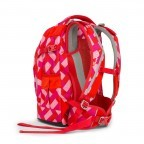 Satch Pack Rucksack Chaka Cherry, Manufacturer: Satch, EAN: 4057081005161, Dimensions (cm): 30.0x45.0x22.0, Image 4 of 7