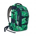 Satch Pack Rucksack Camouflage Grün, Farbe: grün/oliv, Marke: Satch, EAN: 4057081005154, Abmessungen in cm: 30.0x45.0x22.0, Bild 7 von 7