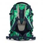 Satch Pack Rucksack Camouflage Grün, Farbe: grün/oliv, Marke: Satch, EAN: 4057081005154, Abmessungen in cm: 30.0x45.0x22.0, Bild 5 von 7
