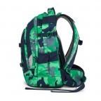 Satch Pack Rucksack Camouflage Grün, Farbe: grün/oliv, Marke: Satch, EAN: 4057081005154, Abmessungen in cm: 30.0x45.0x22.0, Bild 3 von 7