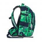 Satch Pack Rucksack Camouflage Grün, Farbe: grün/oliv, Marke: Satch, EAN: 4057081005154, Abmessungen in cm: 30.0x45.0x22.0, Bild 6 von 7