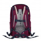 Satch Sleek Rucksack Pure Purple, Farbe: rot/weinrot, Manufacturer: Satch, EAN: 4057081005352, Dimensions (cm): 27.0x45.0x15.0, Image 2 of 7