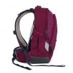 Satch Sleek Rucksack Pure Purple, Farbe: rot/weinrot, Manufacturer: Satch, EAN: 4057081005352, Dimensions (cm): 27.0x45.0x15.0, Image 5 of 7