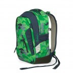 Satch Sleek Rucksack Green Camou, Farbe: grün/oliv, Manufacturer: Satch, EAN: 4057081012596, Dimensions (cm): 27.0x45.0x15.0, Image 2 of 4