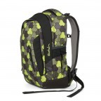 Satch Sleek Rucksack Jungle Flow, Marke: Satch, EAN: 4057081012602, Abmessungen in cm: 27.0x45.0x15.0, Bild 2 von 4