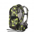 Satch Sleek Rucksack Jungle Flow, Marke: Satch, EAN: 4057081012602, Abmessungen in cm: 27.0x45.0x15.0, Bild 3 von 4