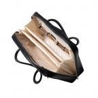 Socha Business Bag Black Swan, Farbe: schwarz, Marke: Socha, EAN: 4029276048222, Abmessungen in cm: 43.5x32.5x9.5, Bild 4 von 5