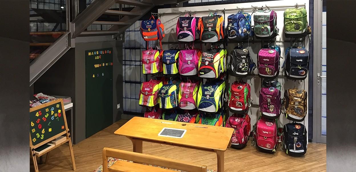 Hausfelder accessoires + reise Haltern Schule