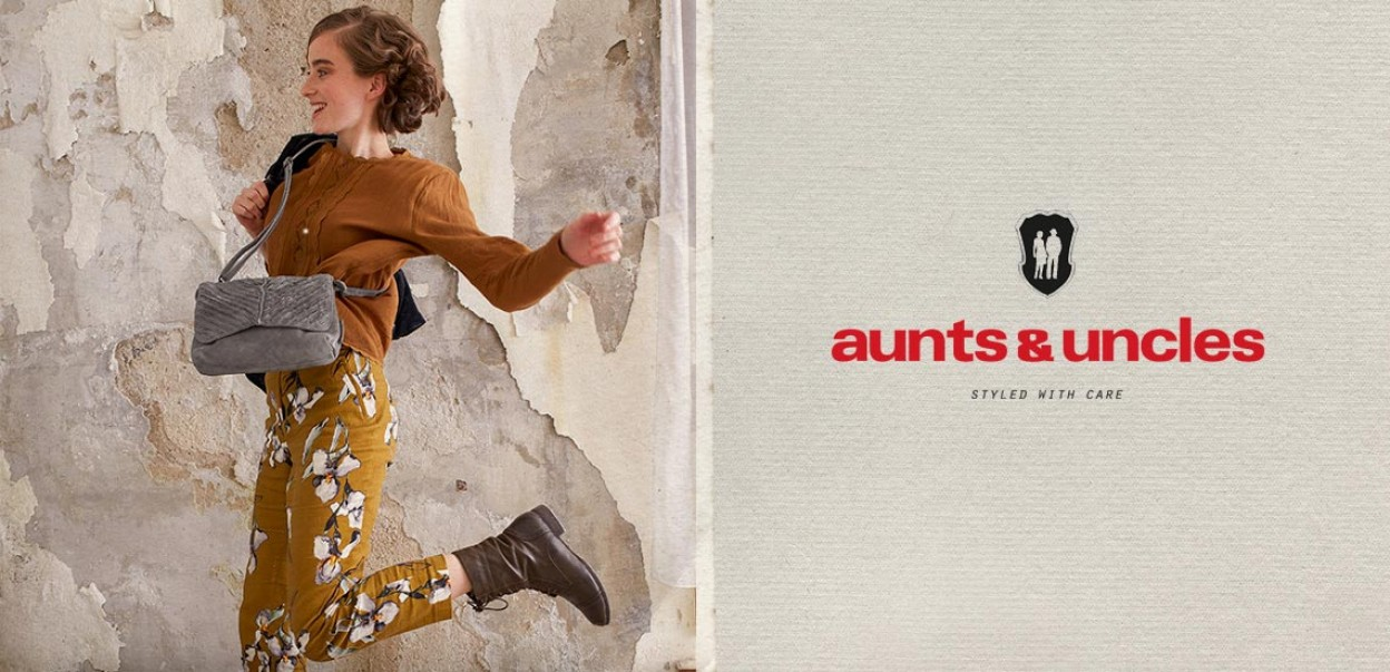Aunts & Uncles - Styled with care - Woman jumping