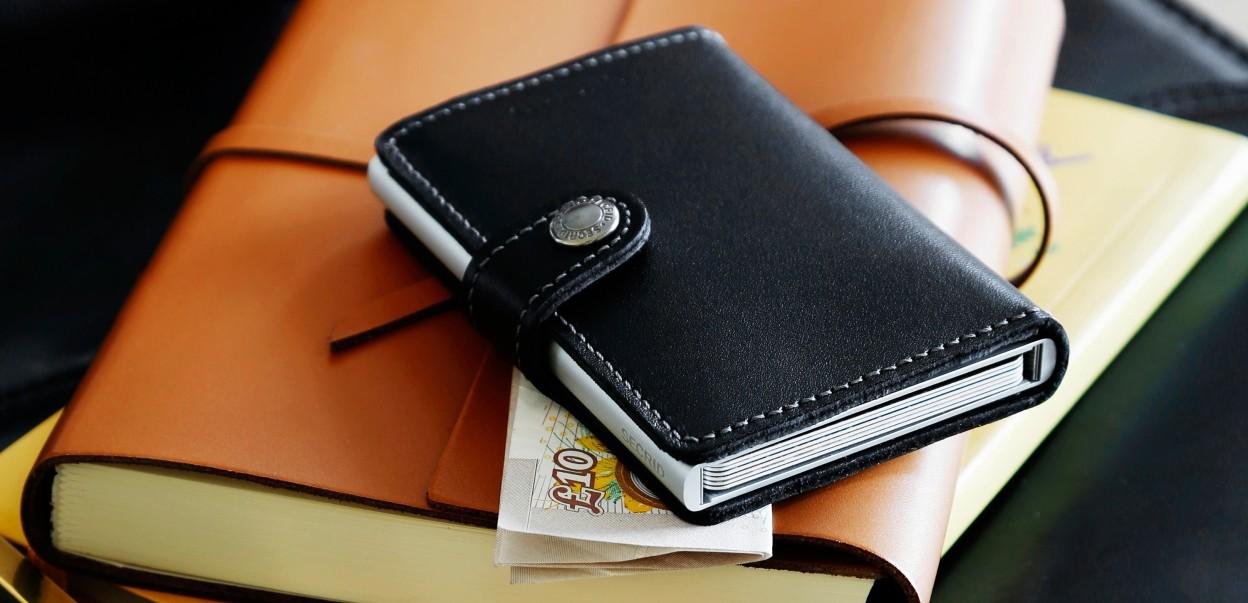 SECRID - Veränderung ist die einzige Konstante - Miniwallet Smooth Leather