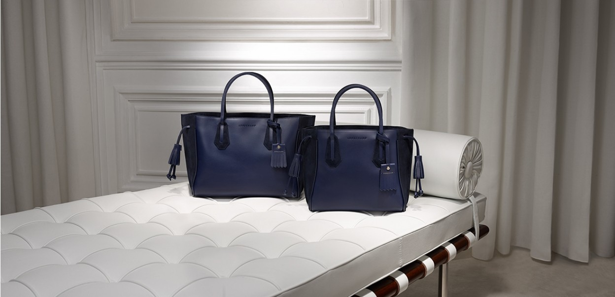 Longchamp - Penelope Bleu