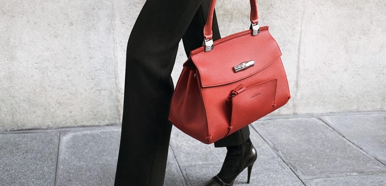 Longchamp - Madeleine Red
