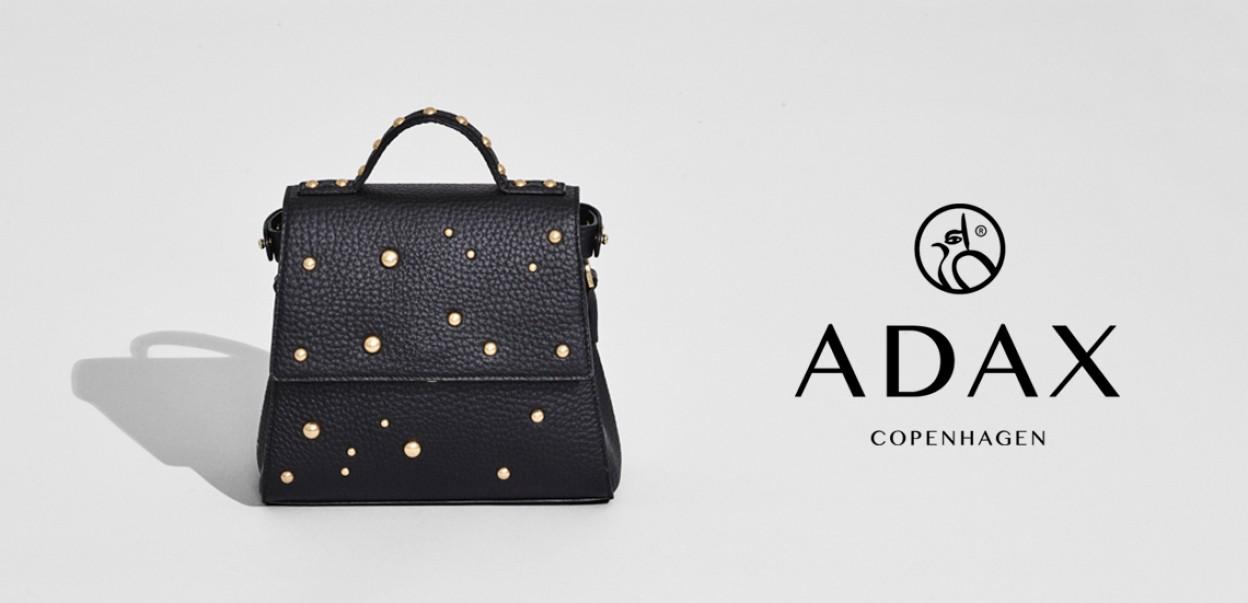 Adax Design aus Dänemark - Tasche Schwarz