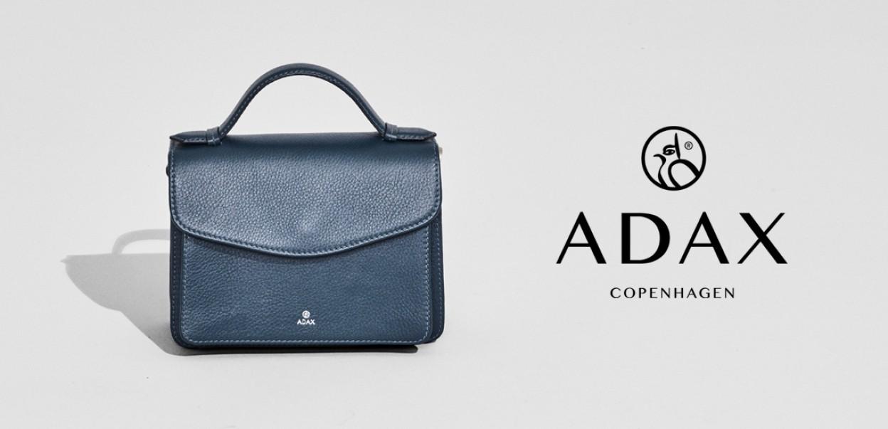Adax Design aus Dänemark - Tasche Blau