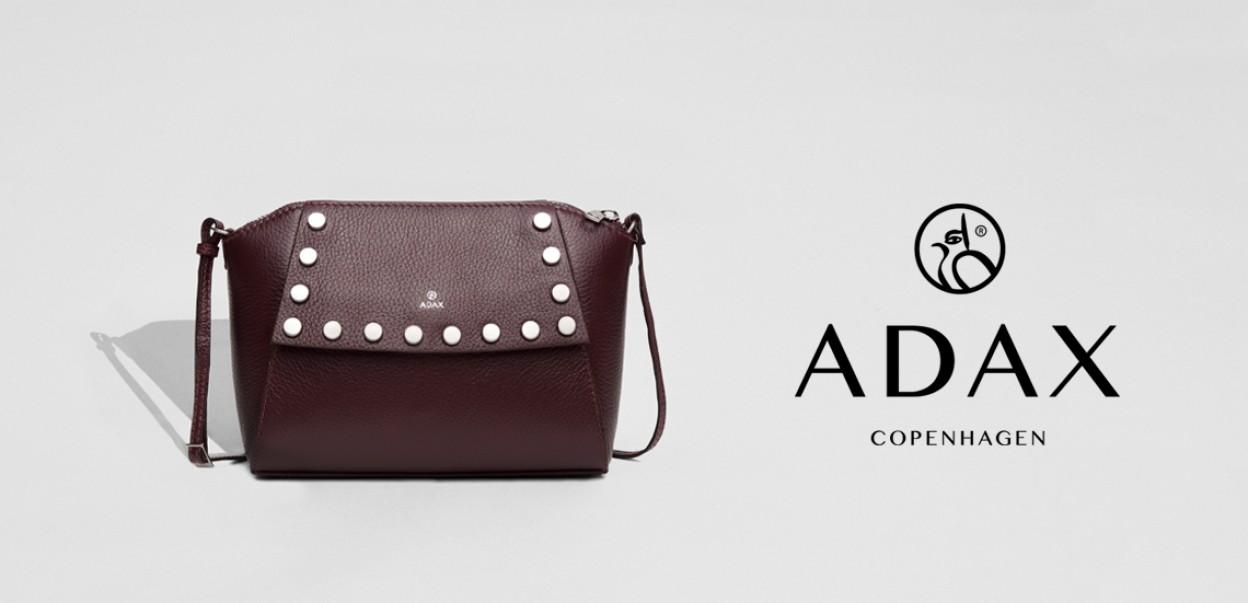 Adax Design aus Dänemark - Tasche Rot