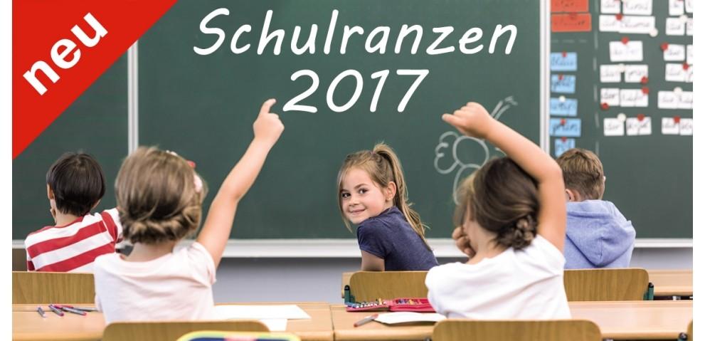 Neue Schulranzen 2017