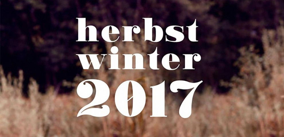 Herbst Winter 2017